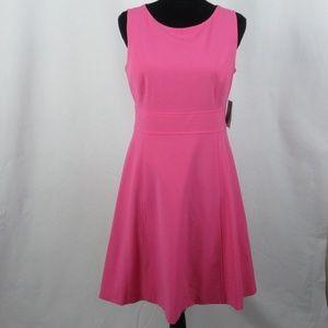 Nine West Pink Sleeveless Dress Size 6 NWT